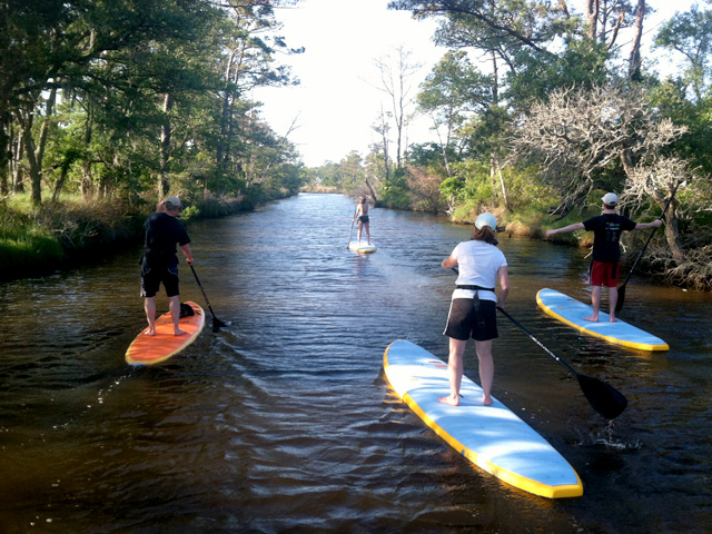 stand up paddle board rental