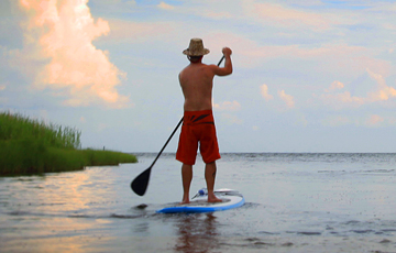 Outer Banks Stand Up Paddle Board Tours | SUP Tours | Outer Banks | NC - Pine Island Audubon Sanctuary