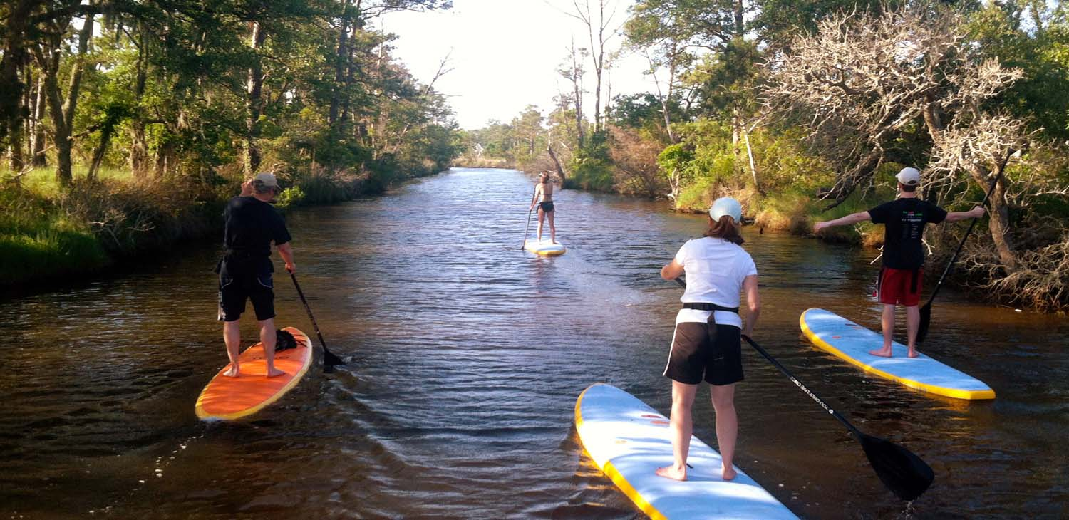 Outer Banks Stand Up Paddle Board Tours | SUP Tours | Outer Banks | NC