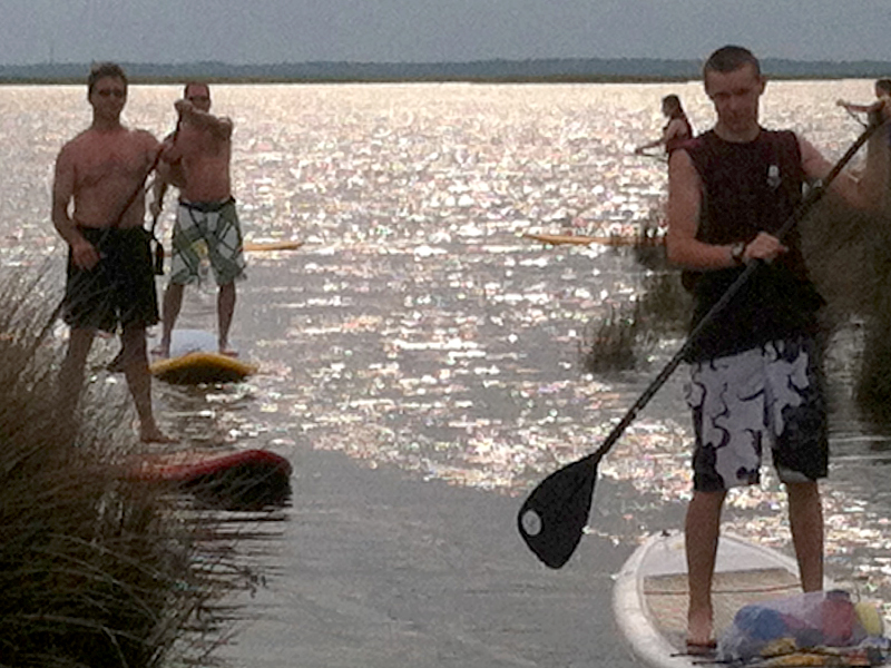 Outer Banks Stand Up Paddle Board Tours   SUP Tours   Outer Banks   NC - Pine Island Audubon Sanctuary
